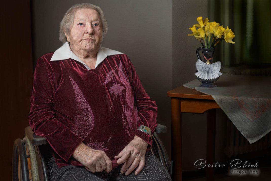 Johanna Seeck - 102 Jahre alt