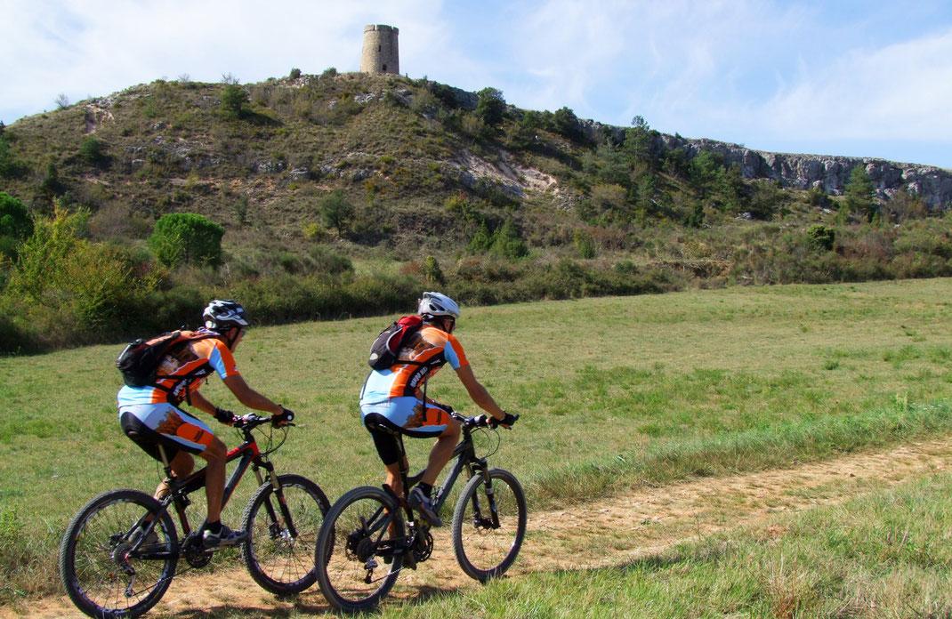 Espace VTT Aude en Pyrénées - Circuit n°35