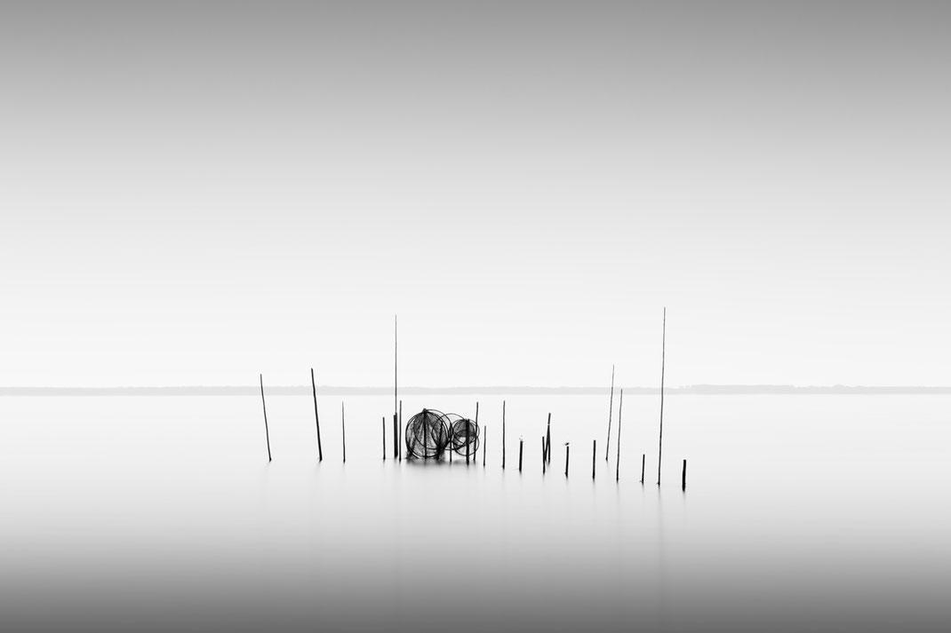 Müritz, Reuse, fishing trap, photography, Minimalismus, Fotografie, minimalism, minimalist, minimalistisch, Holger Nimtz, Wandbild, Kunst, fine art, Fotokunst,
