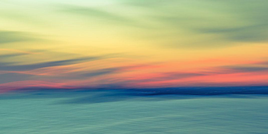 Bosporus, Istanbul, Türkei, Fotokunst, abstract, seascape, abstrakt, Meer, sunset, Sonnenuntergang, Kunst, Strand, beach, Art, Fotografie, photography, wall art, Holger Nimtz, impressionistisch, Impressionismus, Wandbild, malerisch, verwischt,