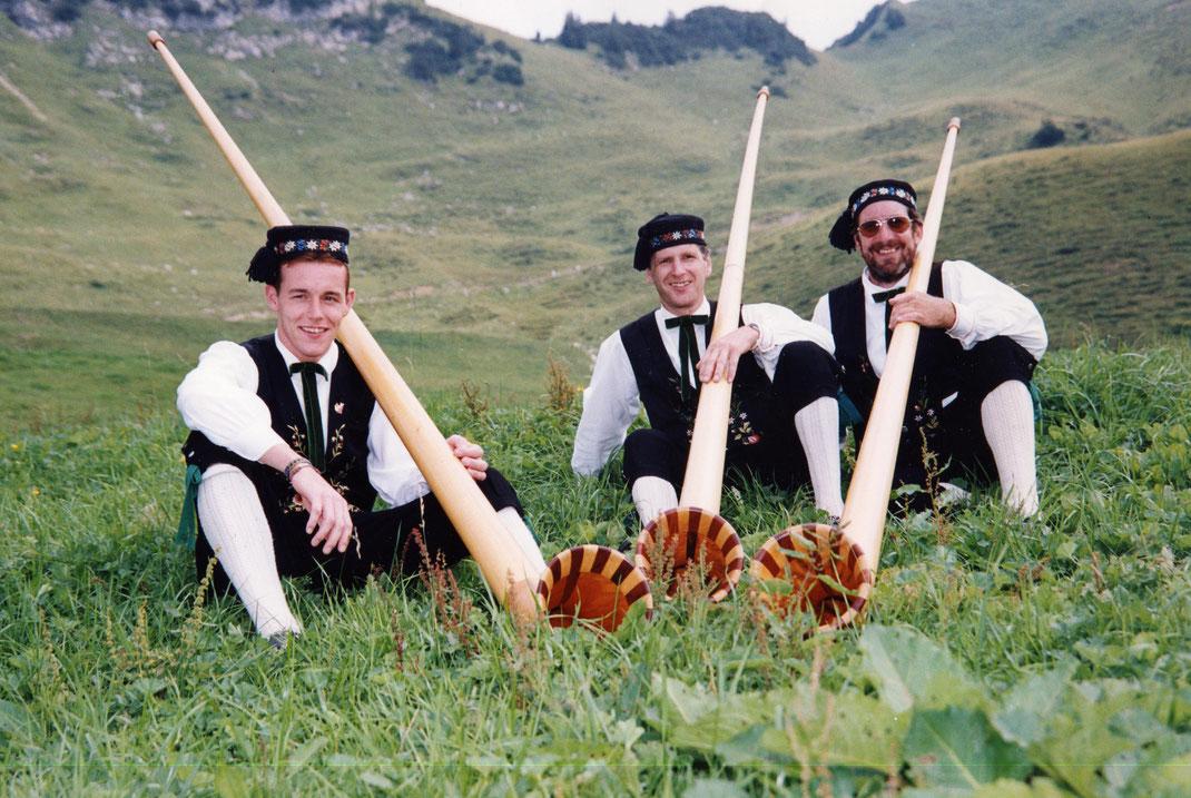 1998 Alphörner Herbert, Alfons und Reinhard