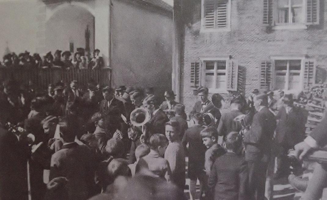 1. Ausrückung Ostersonntag 1948