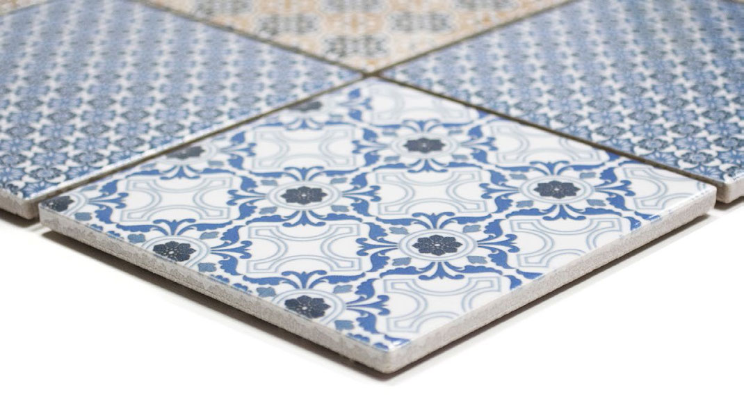 Keramikmosaik Porcelain Mosaik