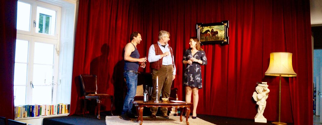 Das Abschiedsdinner - Aufführung im Theater im Zimmer Hamburg