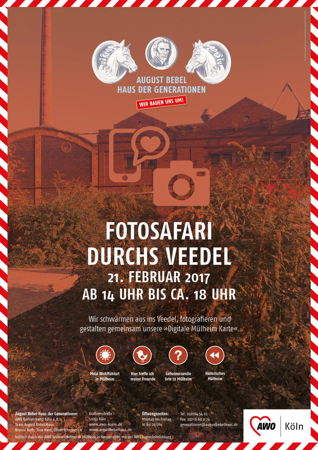 Aktionsposter »Fotosafari«