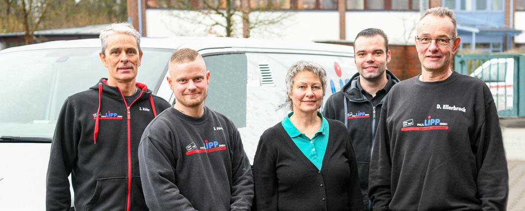 Das Team der Paul Lipp GmbH
