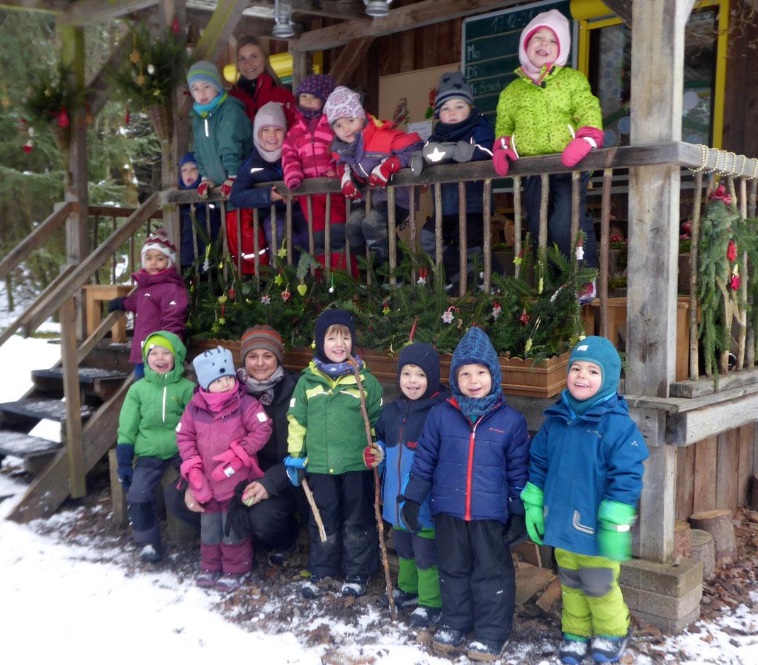 Die Waldkinder im Dezember 2018