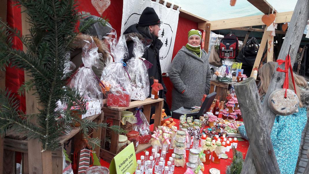 Unser Markstand beim diesjährigen Nikolausmarkt