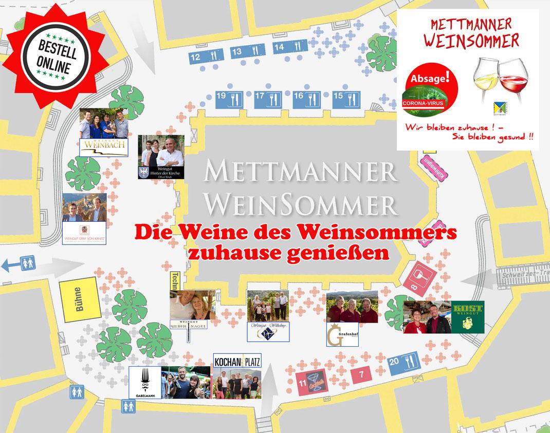 Standplan Weinsommer 2020