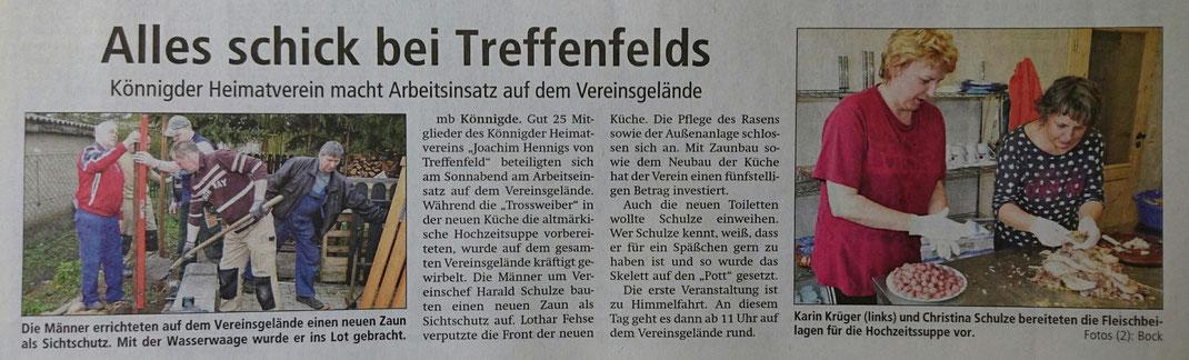 Altmark-Zeitung vom 19.04.2016, von Maik Bock