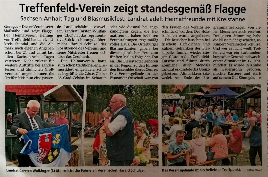 Altmark-Zeitung vom 22.08.2019