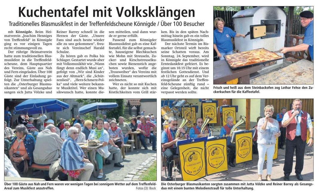 Altmark-Zeitung vom 10.08.2017, von Maik Bock