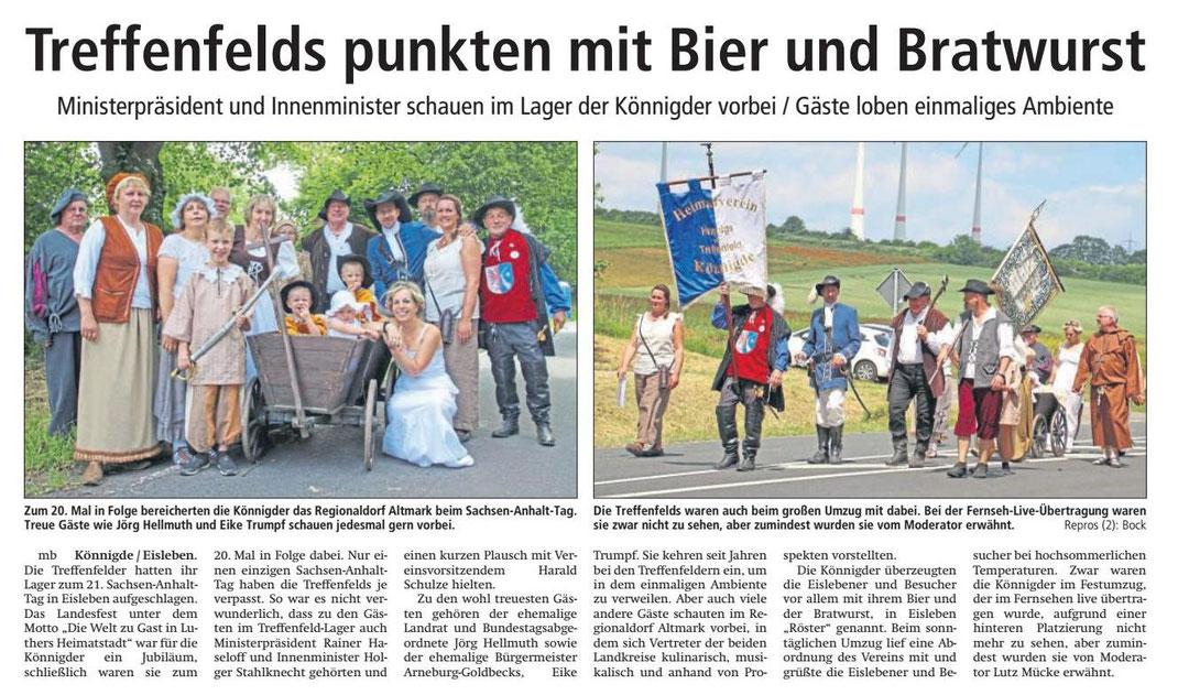 Altmark-Zeitung vom 22.06.2017, von Maik Bock
