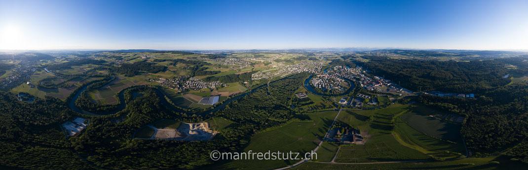 Reusstal im Kanton Aargau