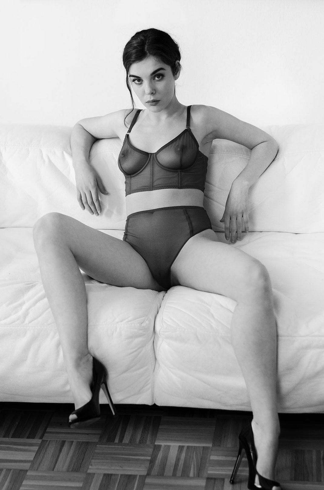 Fashion Aufnahme mit den Model Dako Haux fotografiert von Martin Boelt