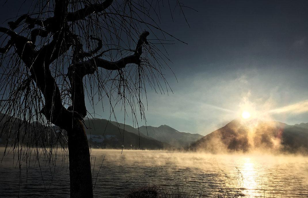 Naturfotografie der Landschaft Tegernsee fotografiert von Martin Boelt