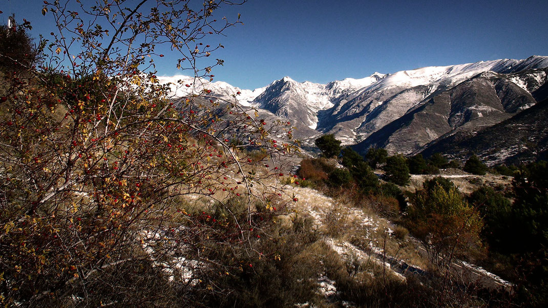 Landschaftsaufnahme Pyrenäen von Martin Boelt