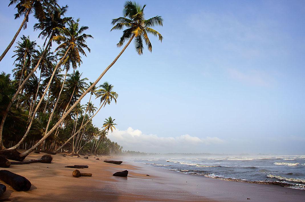 Ancobra Beach in Ghana fotografiert von Martin Boelt