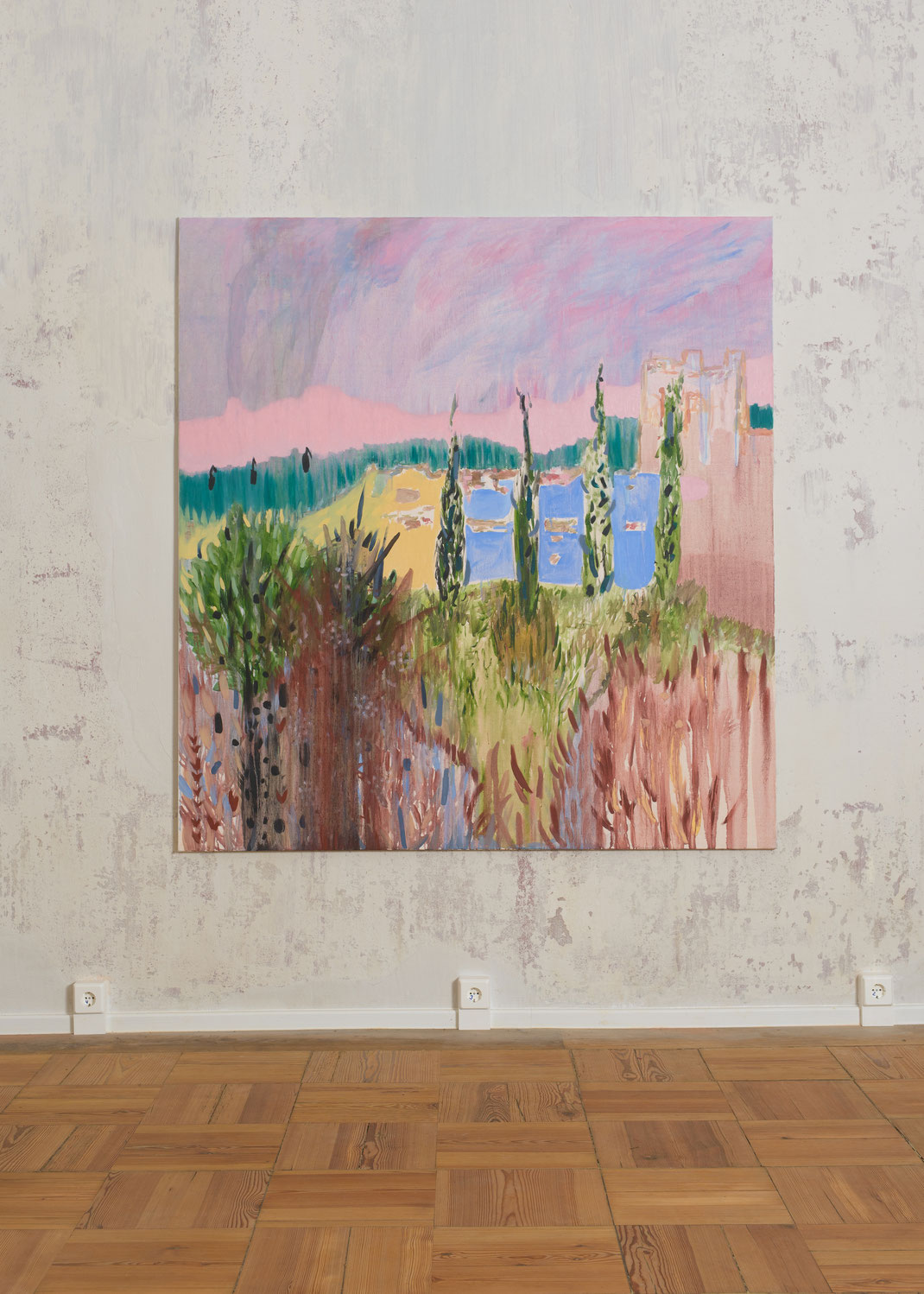 AN END OF series at Exhibition Berlitt Castle, Open Ateliers. Photo: Efacts