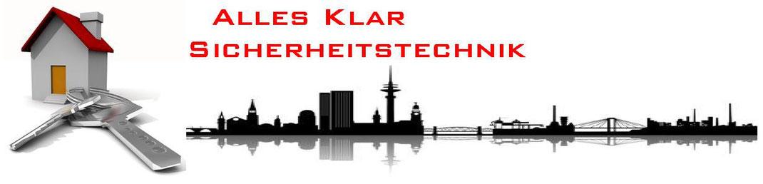 Einbau Panzerriegel Hamburg, ALLES Klar Einbruchschutz Hamburg: Fenster und Türsicherung Hamburg.