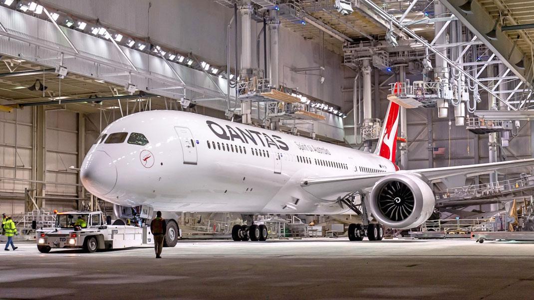 Qantas 787 Dreamliner Boeing