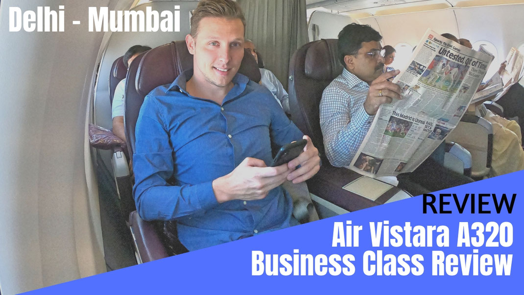 Air Vistara Business Class
