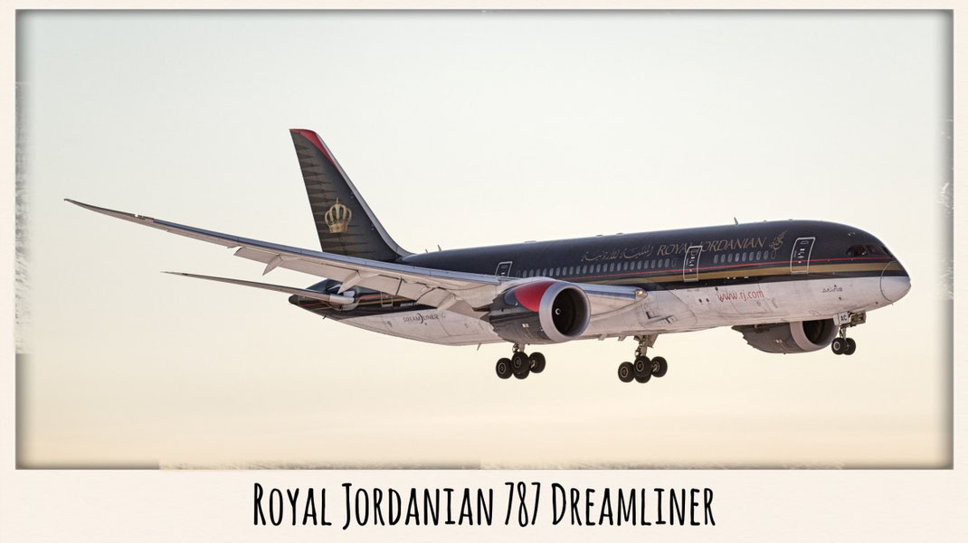 royal jordanian 787 dreamliner