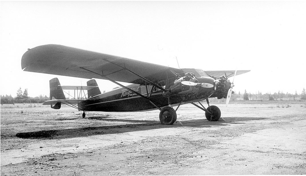Turkish Airlines Curtiss Kingbird 1933