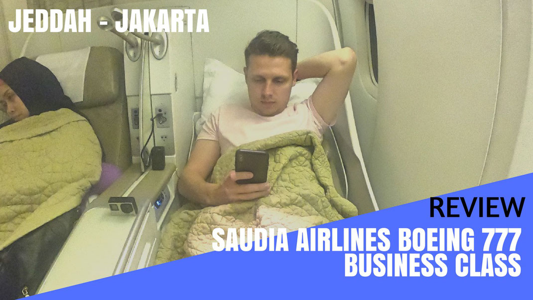 Saudia Airlines Business Class