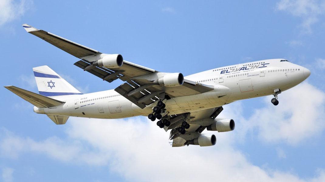 El Al Israel Airlines 747