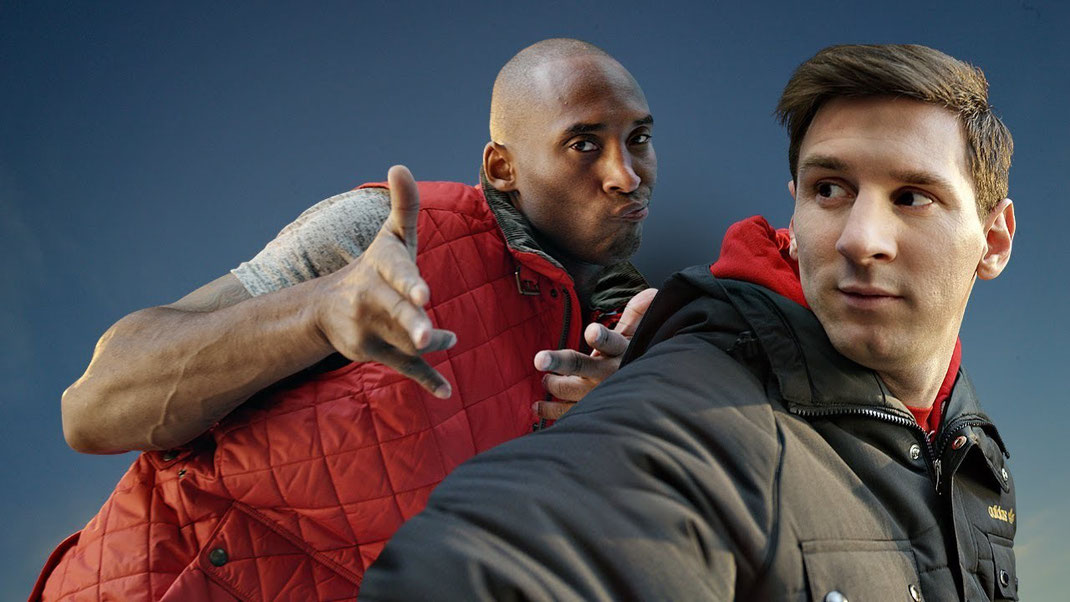 Kobe bryant and Lionel Messi Turkish Airlines