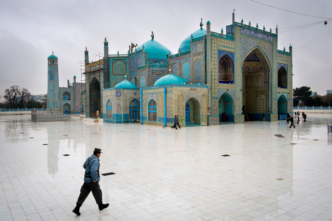 the blue mosque mazar sharif