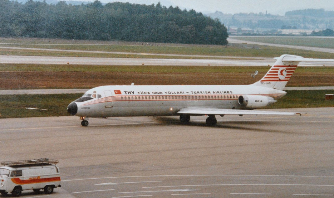 Turkish Airlines DC-9