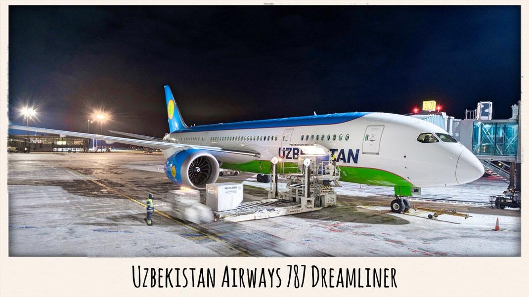 Uzbekistan 787 Dreamliner