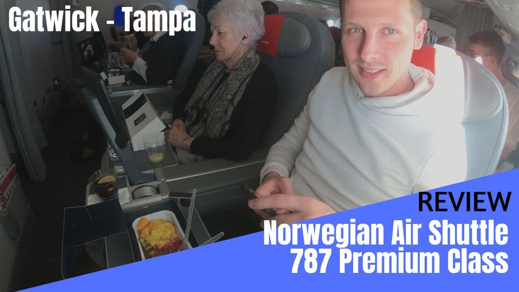 Norwegian 787-9 Premium Class Review