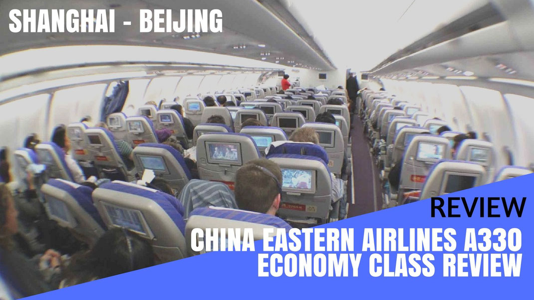 Review China Eastern Airlines Economy Class To Shanghai
