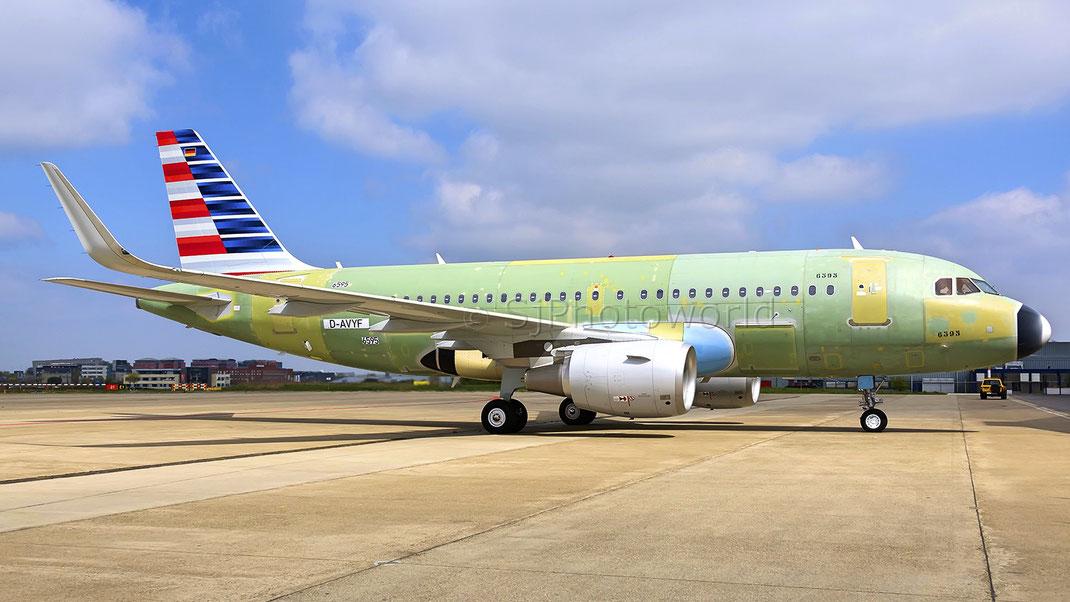 N673ae American Eagle Embraer Erj 145lr