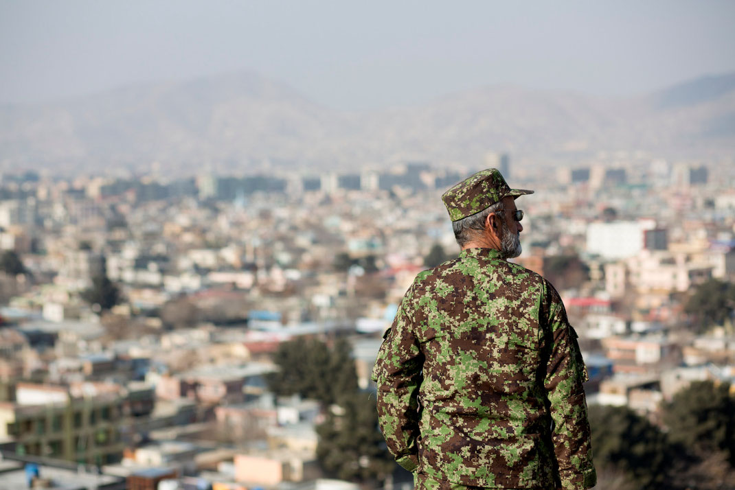 afghan soldier in kabul