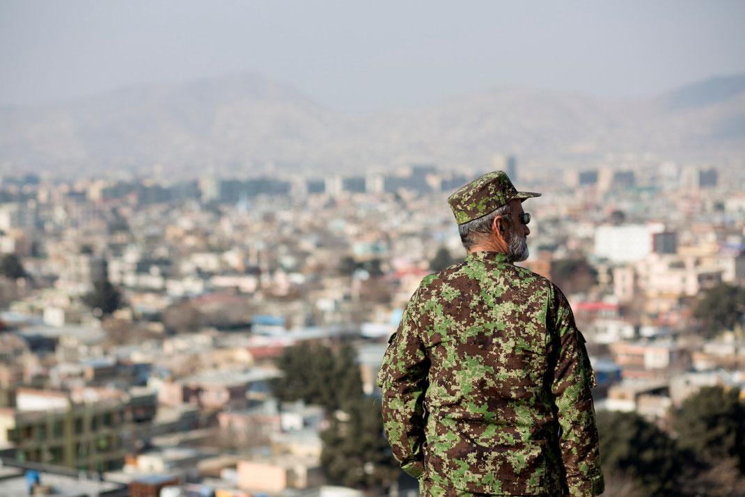 afghan soldier in kabul