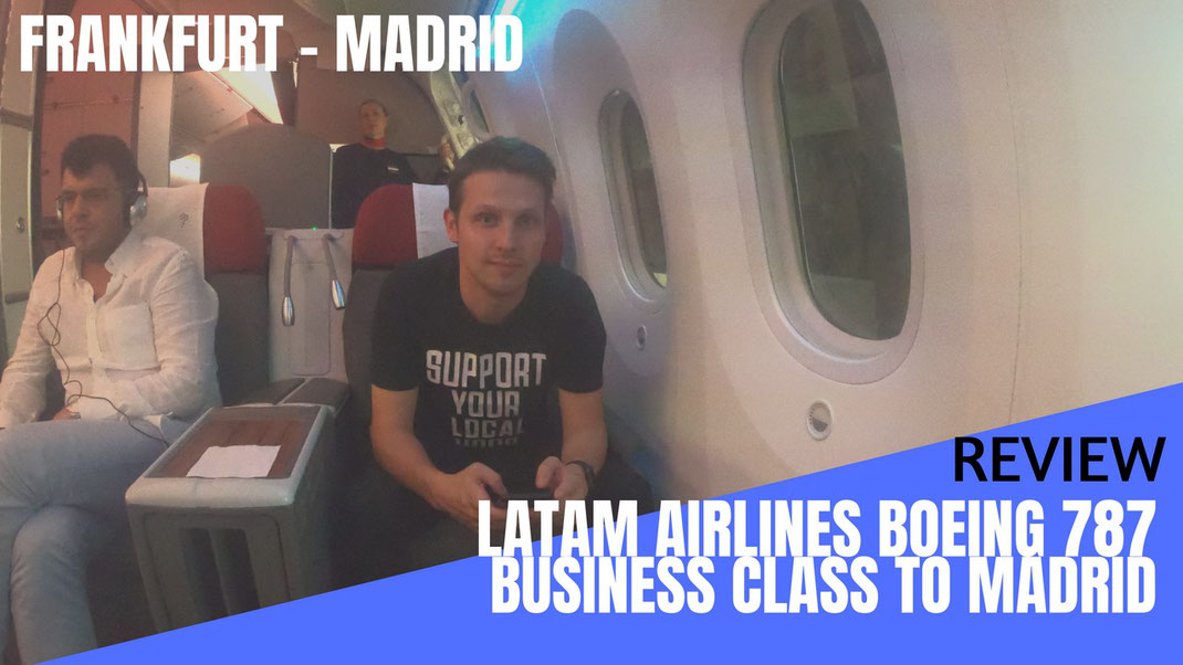 LATAM Airlines 787 Business Class