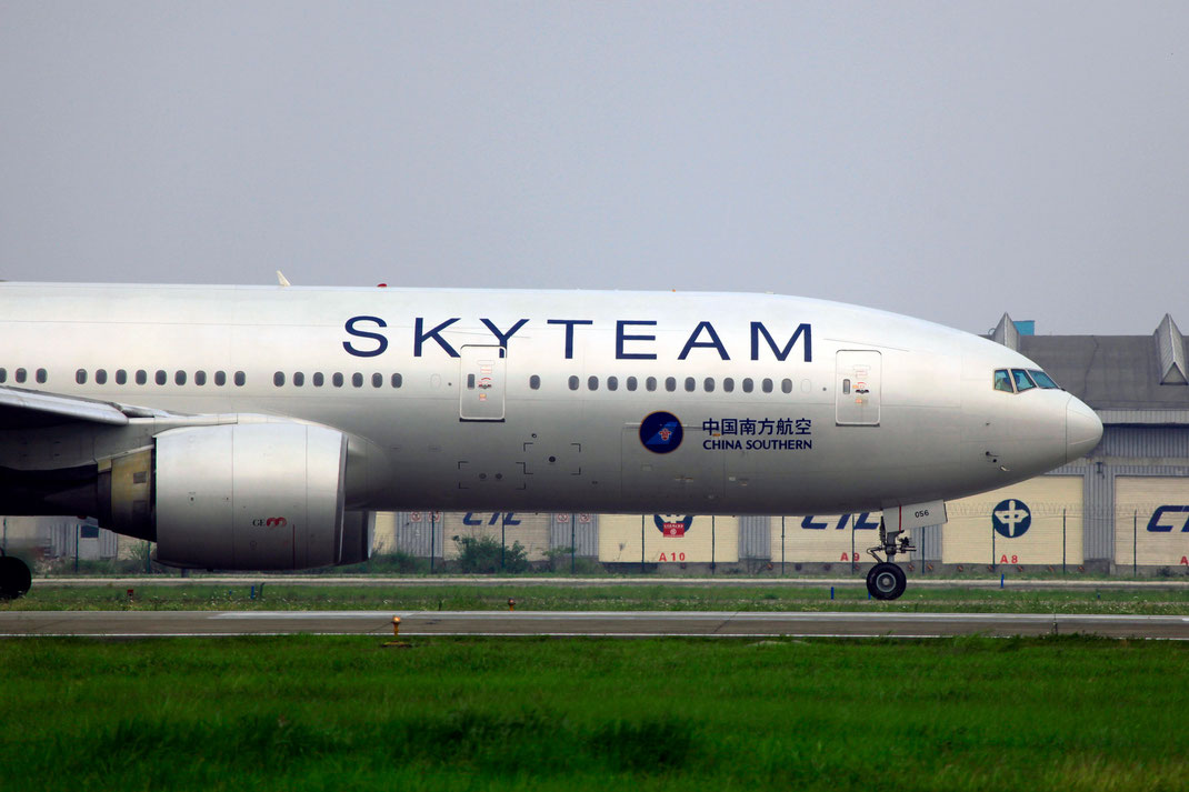 China Southern Airlines 777 Boeing SkyTeam