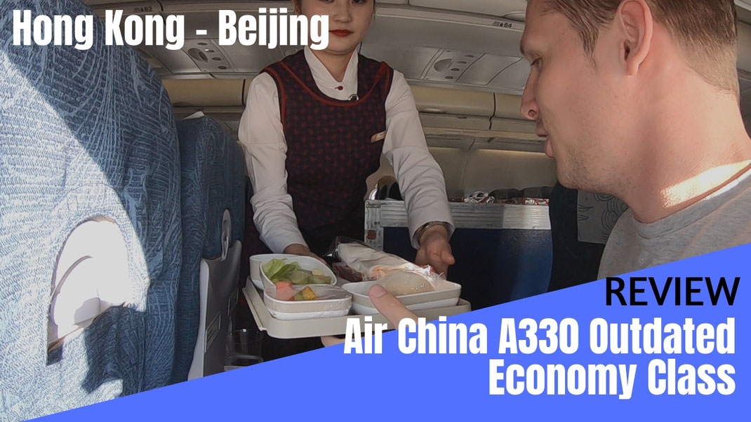 Air China A330 Economy Class