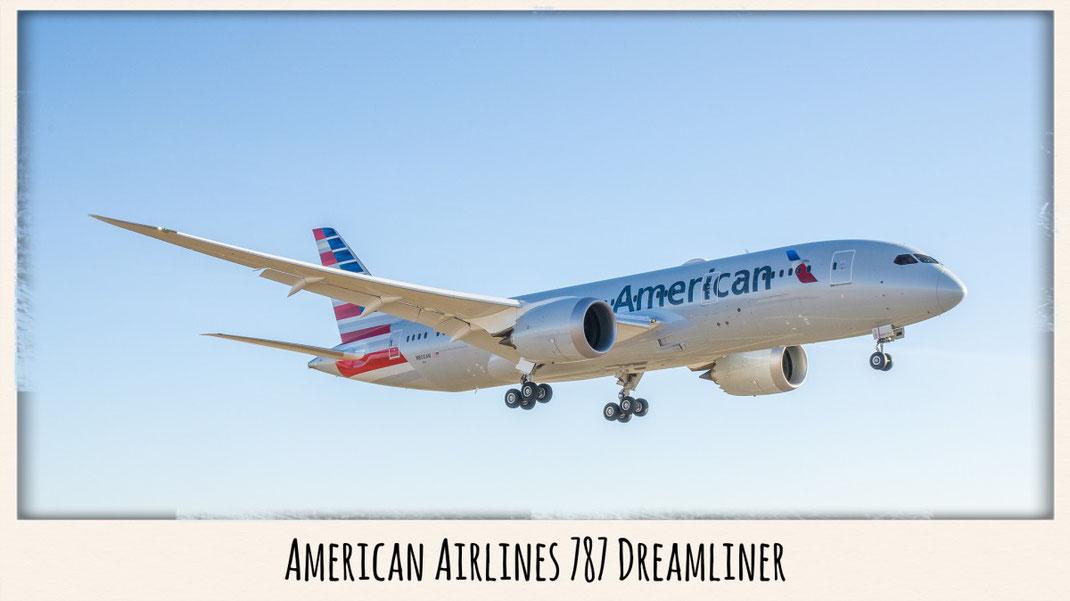 american airlines 787 dreamliner