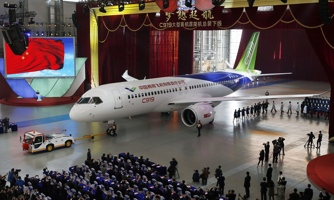 Comac C919 Air China
