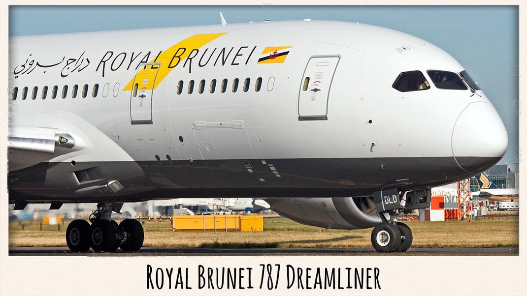 royal brunei 787 dreamliner