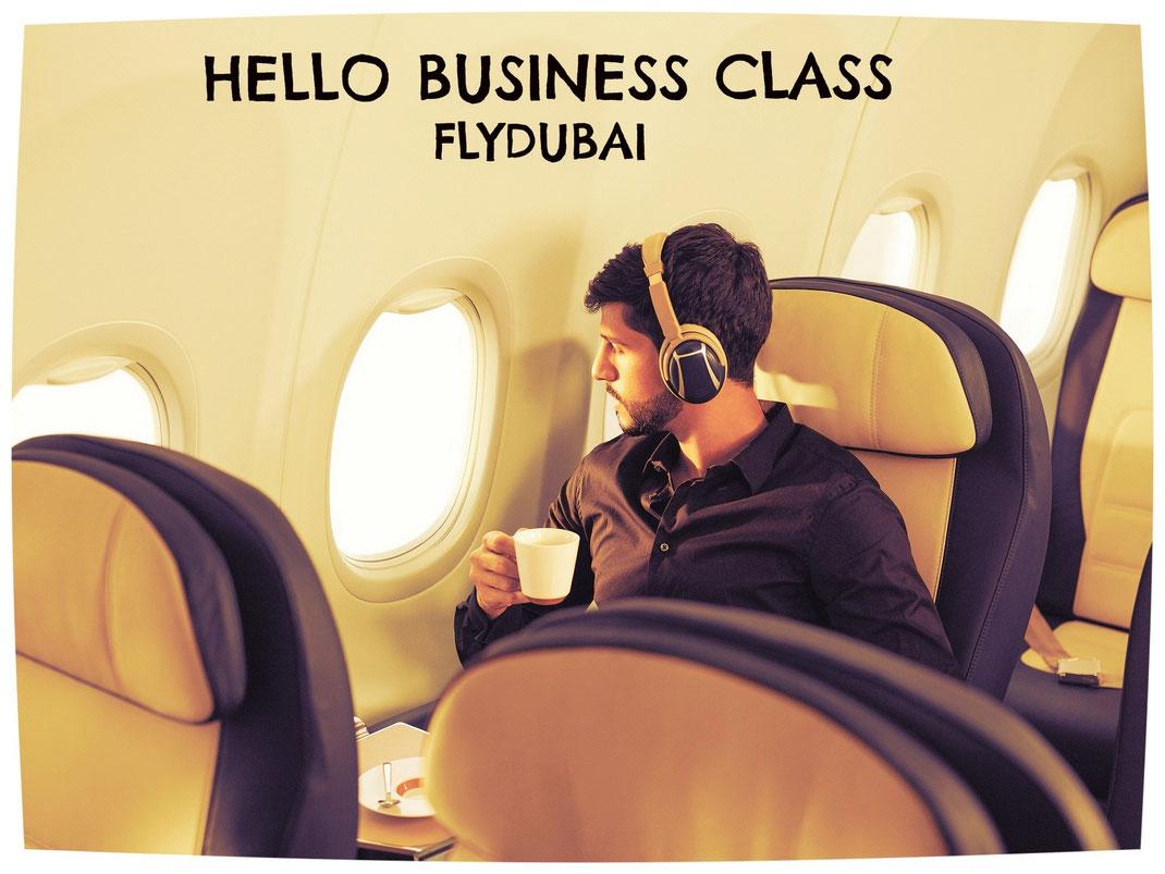 flydubai business class