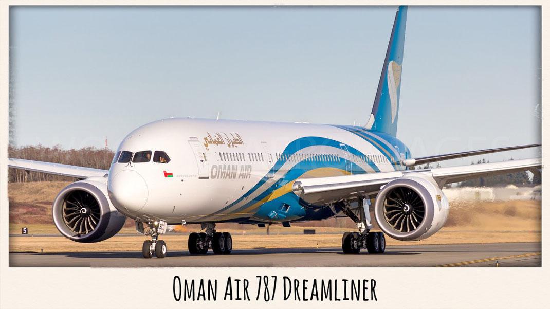 Oman Air 787 Dreamliner