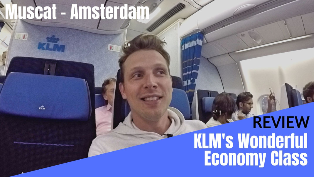 KLM Airbus A330 Economy Class