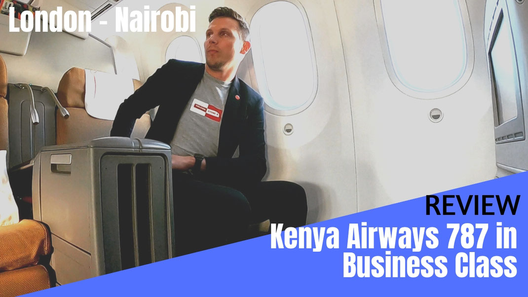 Kenya Airways Business Class Review