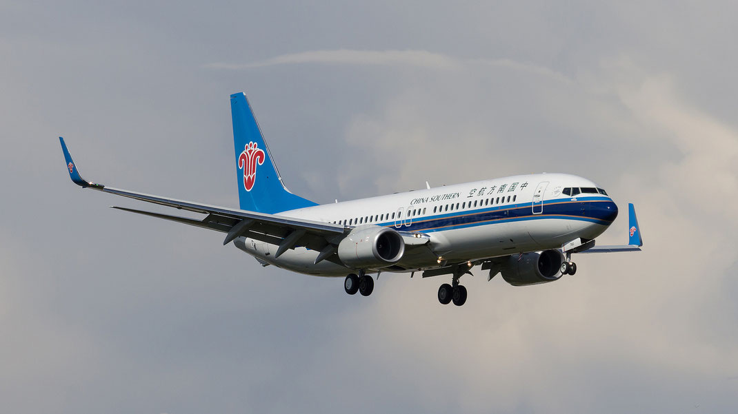 China Southern Airlines 737 boeing